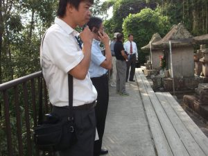 小松帯刀の墓園林寺