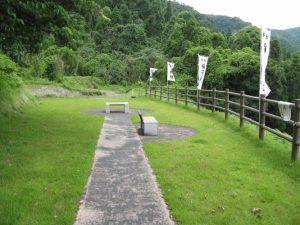 稲荷神社埋没鳥居公園の展望所