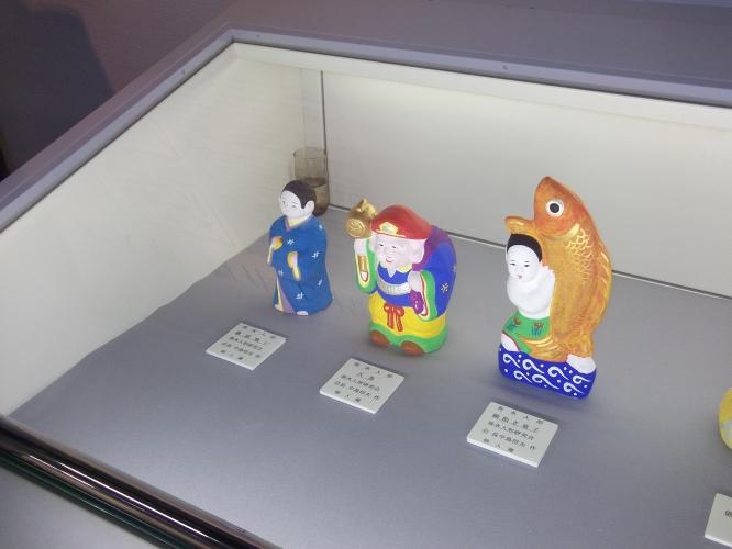 鹿児島の土人形展に行きました-1