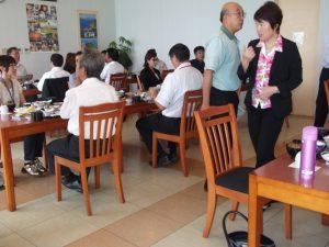 ホテル佐多岬で昼食