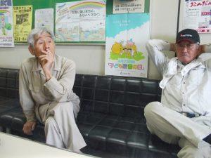 おたけどん館長、鶴田さんと松元さん
