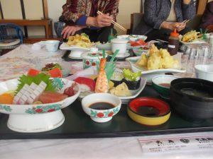 志布志大黒2000円コース昼食