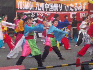 YOSAKOI九州、中国IN宮崎、いざ本番、引き継ぎ式-4