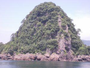 この島、どこの?垂水の江ノ島