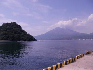 戦国時代、近衛信輔公が名付けた江ノ島と桜島