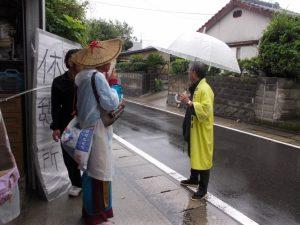 鹿児島YOSAKOI連会長、河井氏も前日から指導にきて下さいました