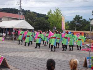 垂水YOSAKOI桜輝楽の踊りスタート