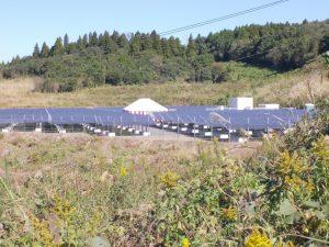南九州クリーンパワー株式会社の太陽光発電所竣工式