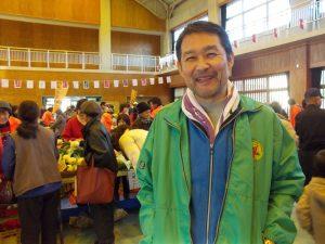いきいき祭り仕掛け人の一人鹿大井野倉教授