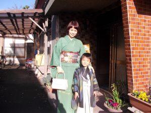 孫のA君とママ