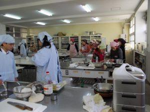 垂水高校、料理教室-1