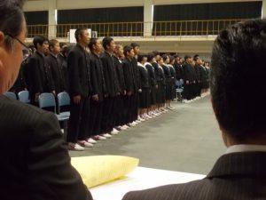 在校生の歌声素晴らしかった