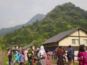 森の駅猿ヶ城で着物体験