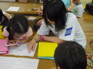 奈良県光明中学校、民泊体験