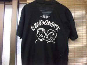民泊手話用Tシャツを作りました。-2