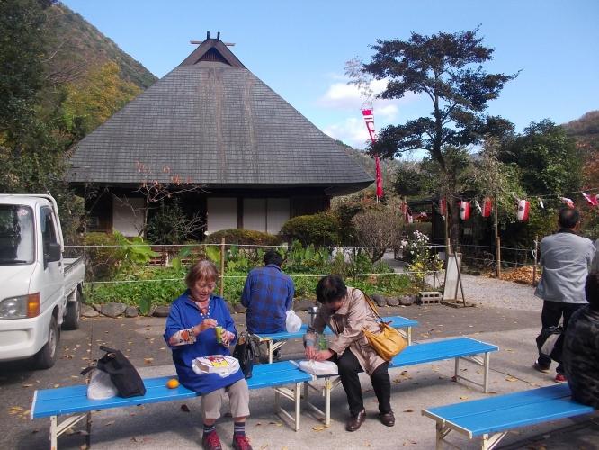 バスツアー椎葉平家祭りに行きました-1