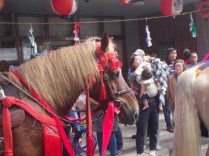 本物のお馬さんも数匹登場