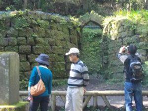 寺山の炭窯跡(世界自然遺産)