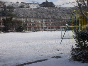 垂水小学校と城山