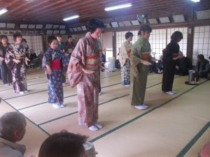 大浦町ほうそう踊りを観に行きました-5