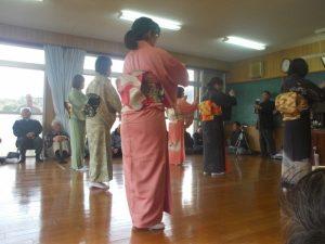 大浦町ほうそう踊りを観に行きました-7
