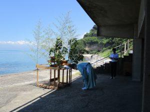 森の駅、まさかり海水浴場神事-4