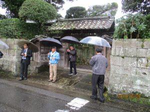 日本遺産会議、加世田麓を視察-5